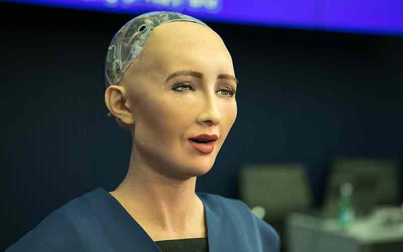 Sophia the humanoid robot